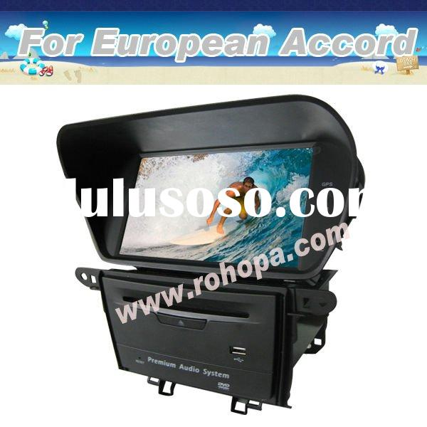 for honda accord car dvd player with gps