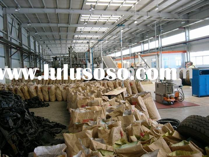full automatic tyre/tire recycling machinery