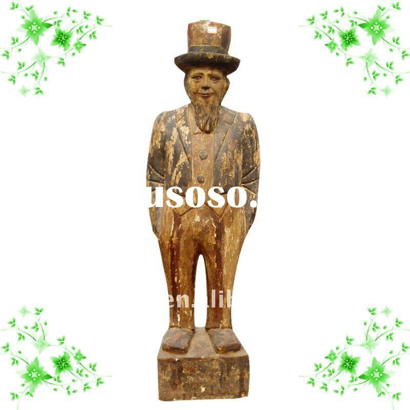 hand carving wooden sculpture YL-Q020