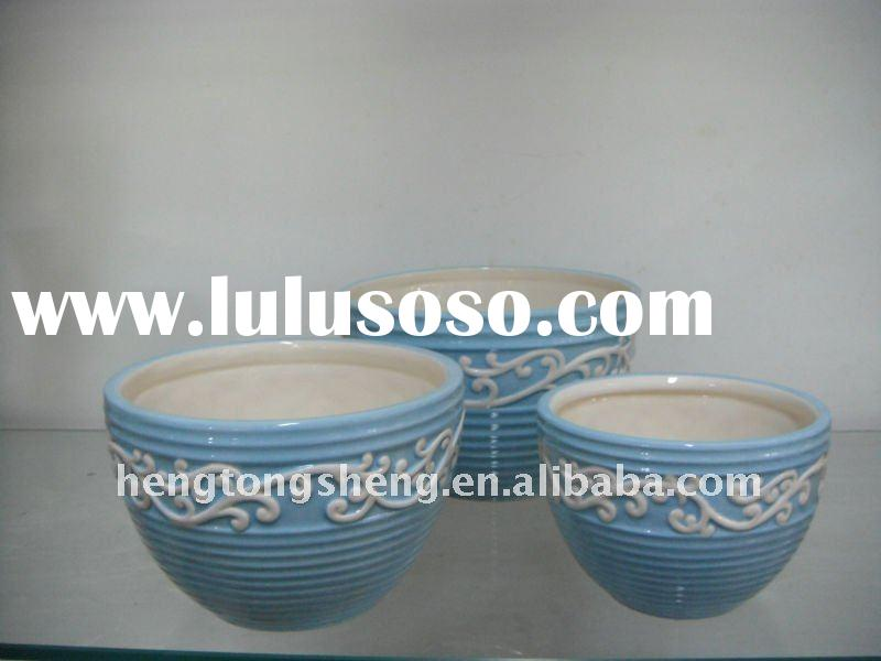 hand painted coffee and tea cup set of 3