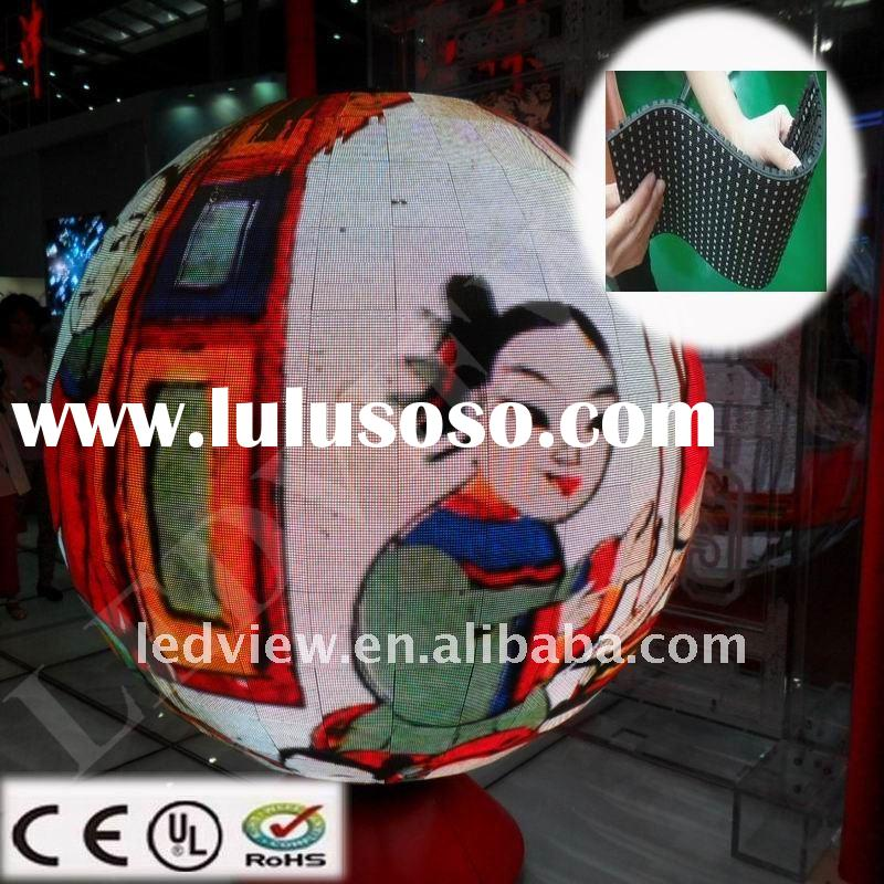 high brightness full color video led ball indoor