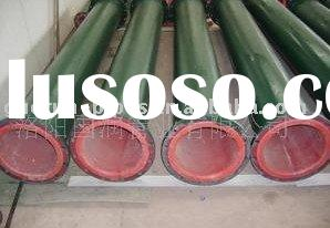 high corrosive resistant rubber lined pipe for sea water transportation