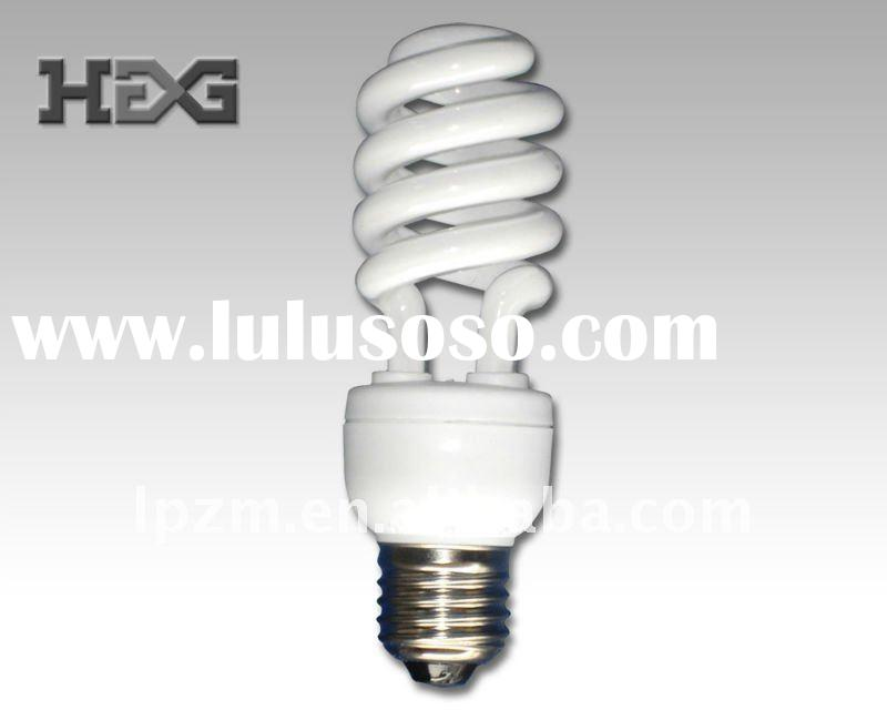 high quality 11w spiral type power saving lamps E27