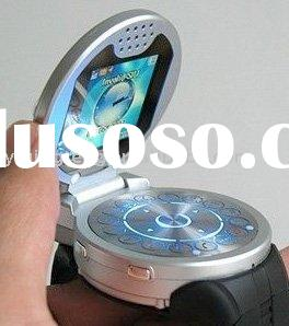 high quality flip mobile/cell watch phone