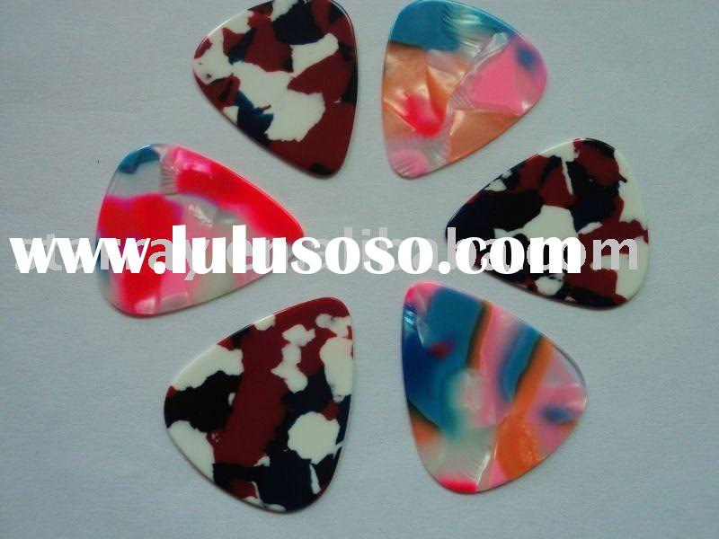 high quality pearl celluloid guitar pick/plectrum at low price