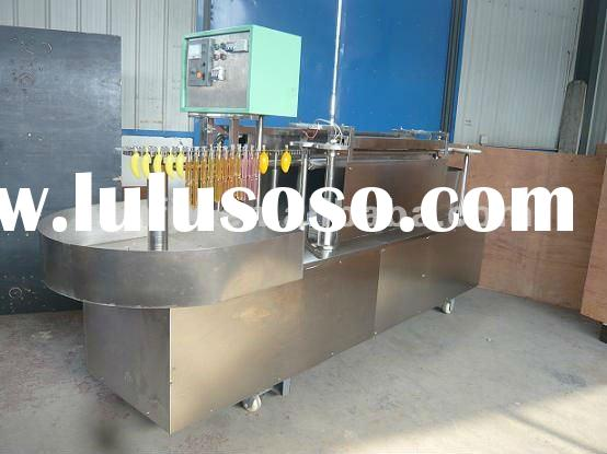 high speed ice lolly tube/pop filling and sealing machine