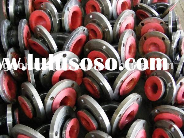 high temperature resistant rubber lined pipe for chemical water transportation