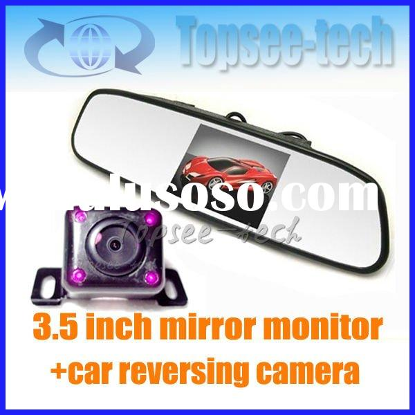hot 3.5 inch LCD car Monitor night vision Reverse Camera Kit