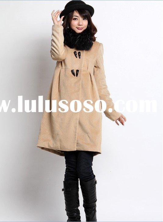 hot sell 2011 top design women winter coat(F054)