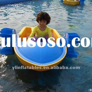hot selling plastic paddle boat(for kids)