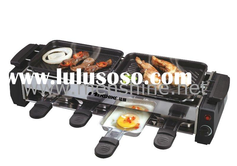 indoor electric stainless steel bbq grill