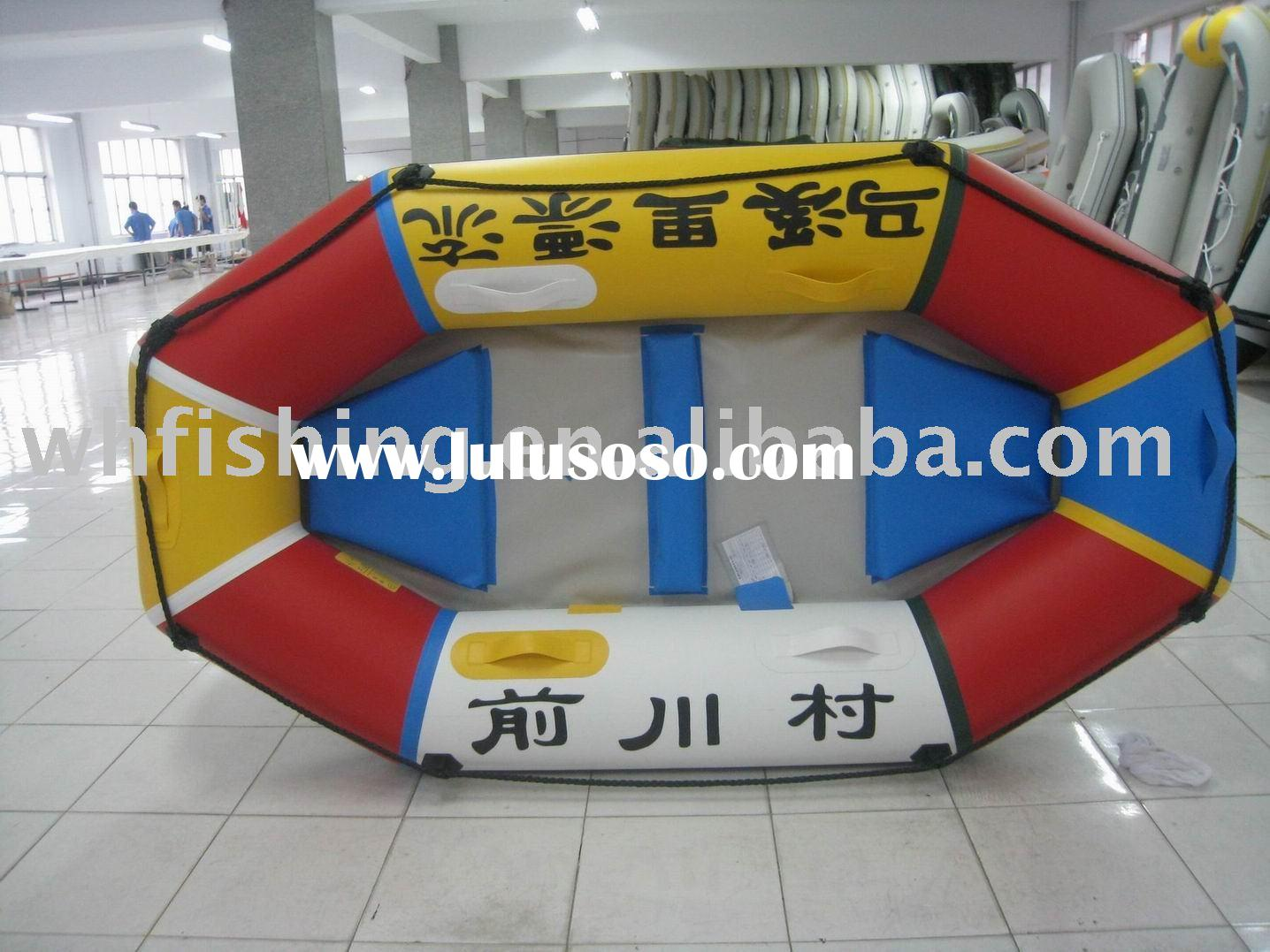 inflatable river drift raft boat