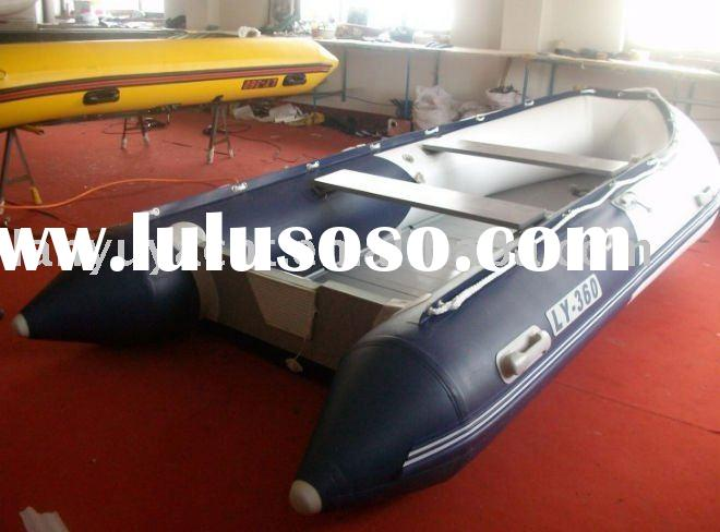 inflatable rubber boat with aluminium floor LY-360