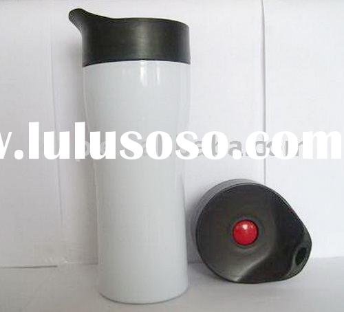 insulated travel mug with leak-proof lid