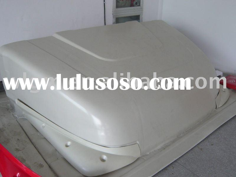 large vacuum forming thermoforming plastic part for truck air deflector