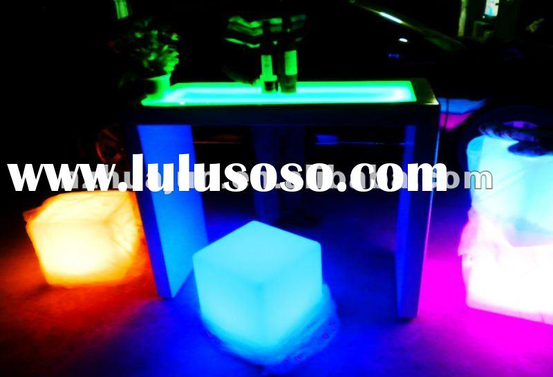 led bar table& clowing furniture& led bar counter