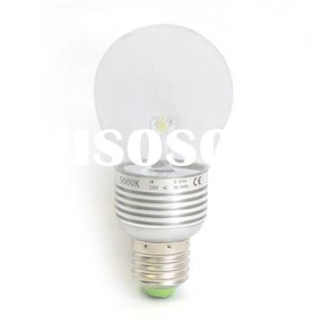 led bulb with various shapes and base types