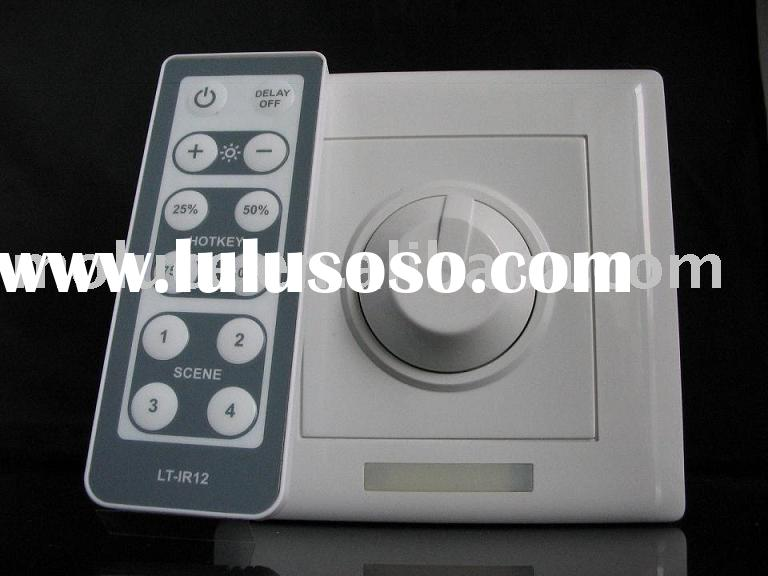led dimmer with remote controller DMX, dimmable effect receiver (Led dimmer, RGB control system, Led