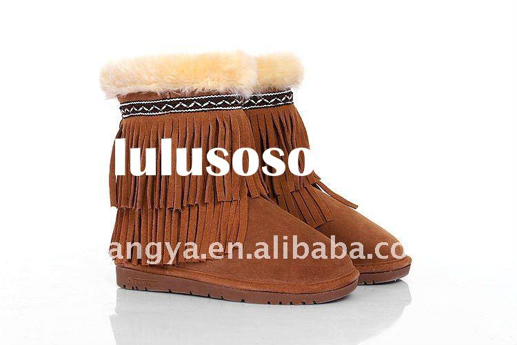 mid top fashion new style branded public cool cement winter women snow boot