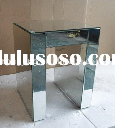 mirrored small table