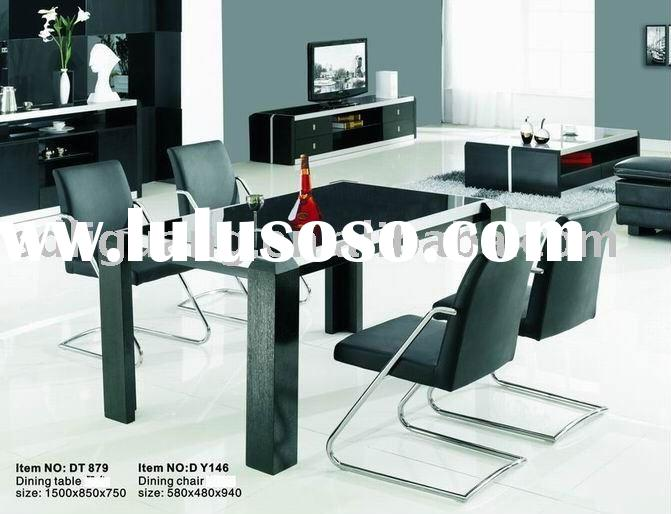 modern glass dining room furniture