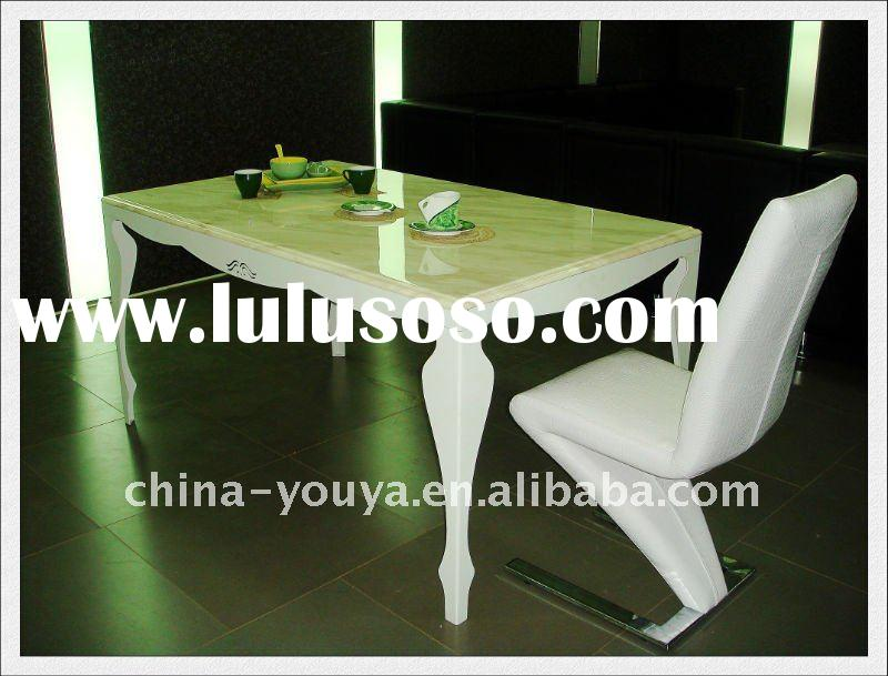 modern marble top dining table YT29
