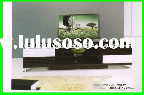 modern wood LCD TV stand