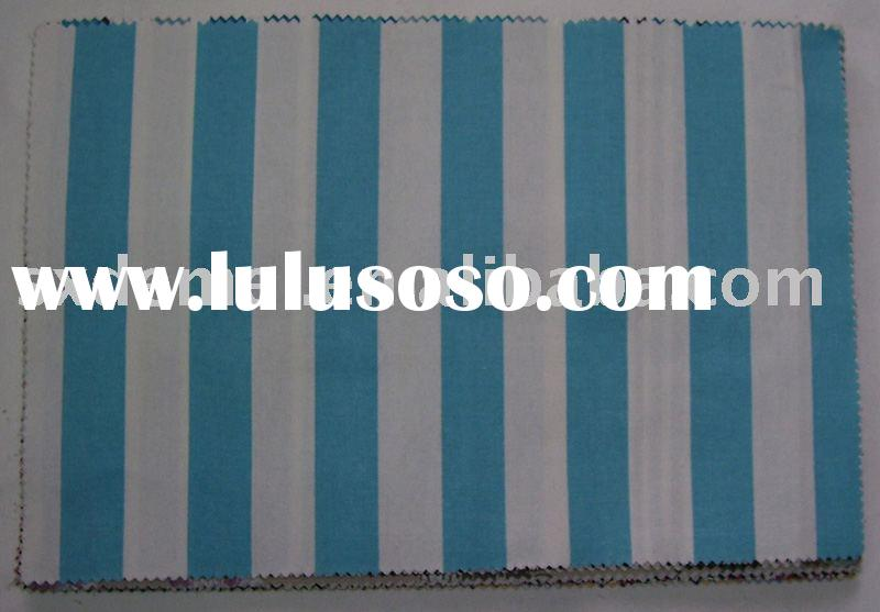 more than five hundred patterns heavy weight cotton fabric-- navy blue and white stripe fabric