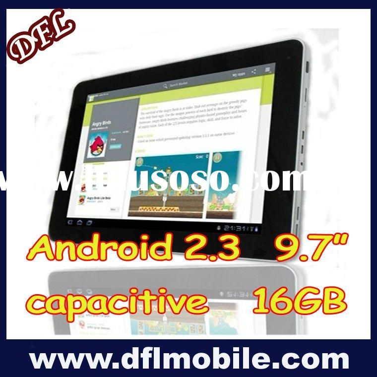 """new thin 9.7""""inch high speed tablet pc R97 Android 2.3"""