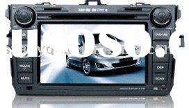 newest CASKA car dvd gps toyota corolla with buletooth stering wheel contorl function