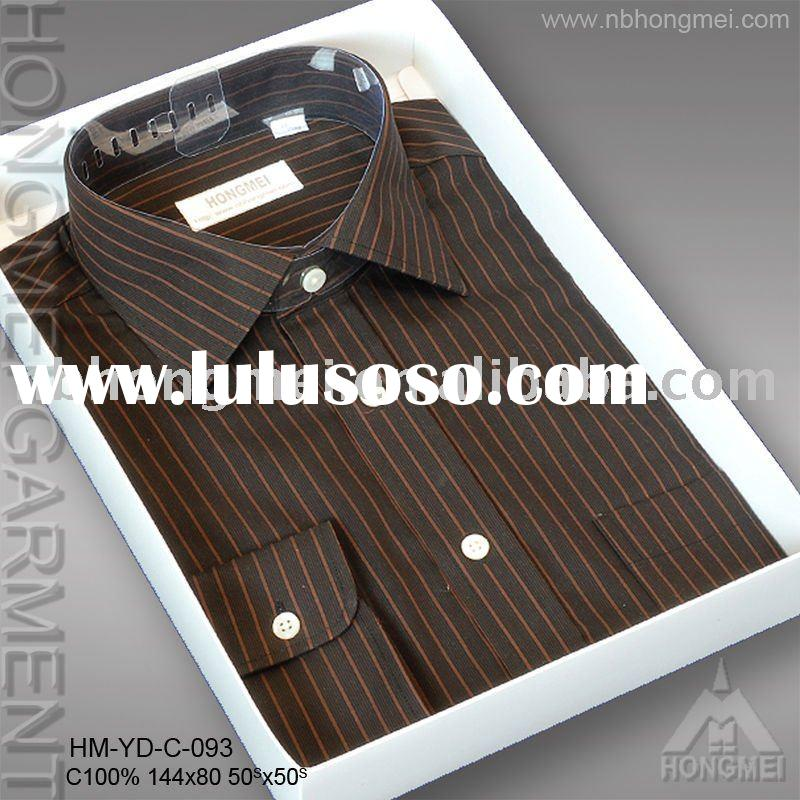 nice yarn dyed cotton suit dress shirt