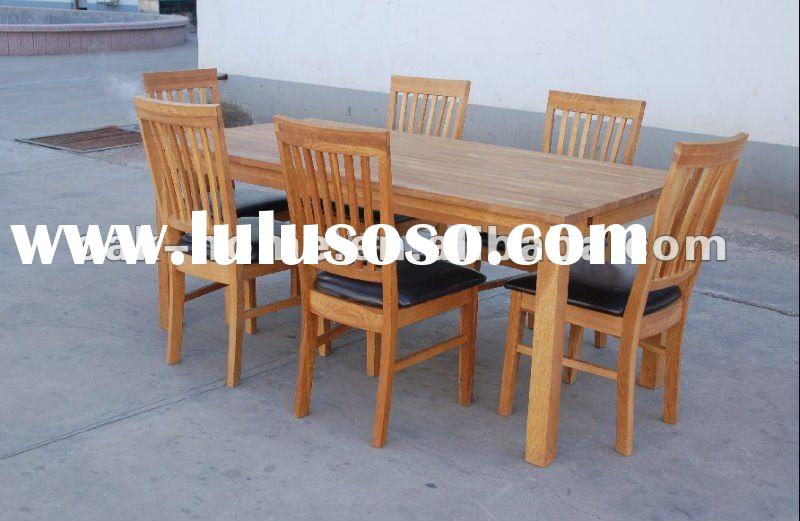 oak dining table ,chair
