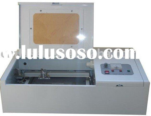 official stamp making equipment mini laser machine desktop cutting and engraving machine