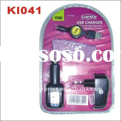 original new multiple mobile phone car charger