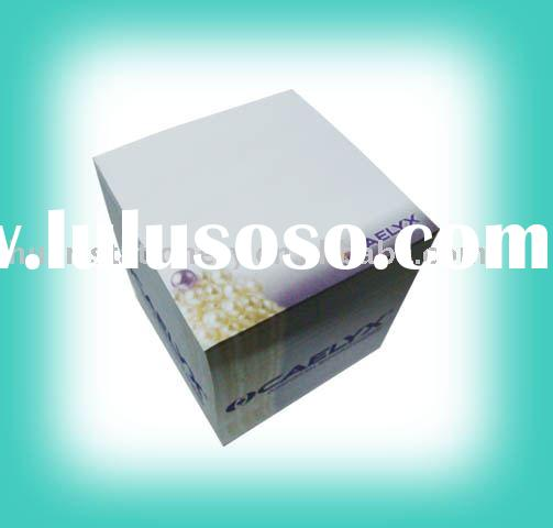 paper cube/block/memo pad/sticky note