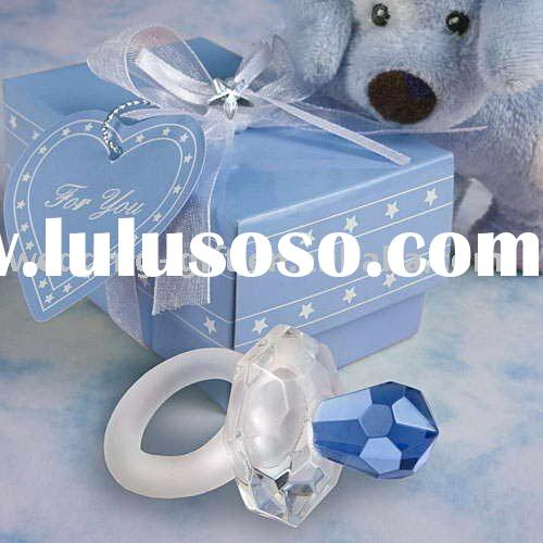 party decoration of Choice Crystal blue pacifier favors for party favor