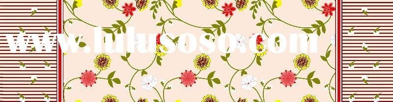 plain or twill 100% cotton printed home textile fabric