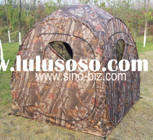 pop up hunting tent