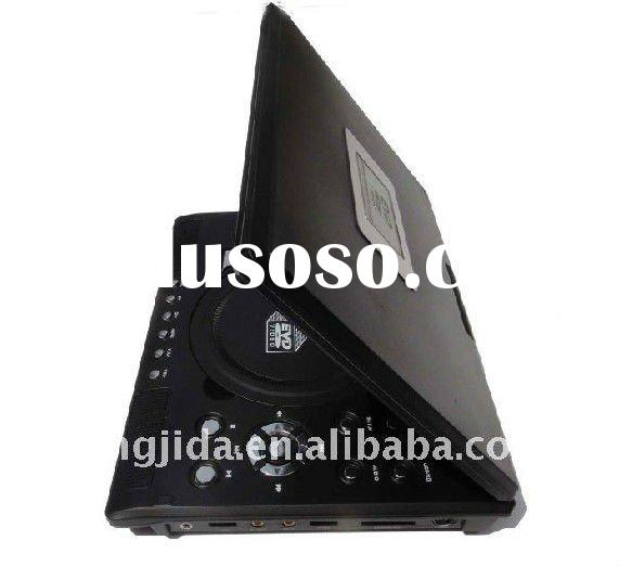 portable dvd player with TV Tuner support USB/SD card
