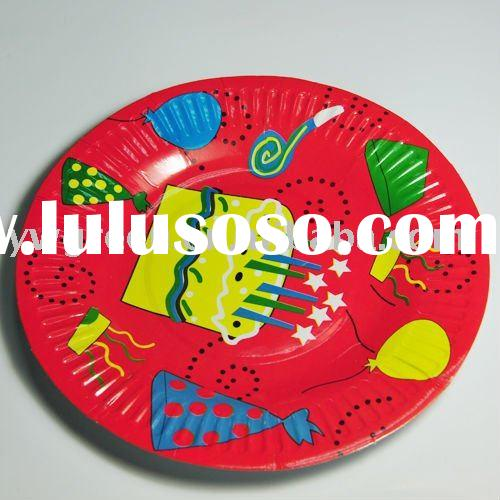 printed paper party plates,custom party paper plates