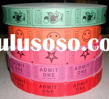 raffle ticket/admission ticket roll paper
