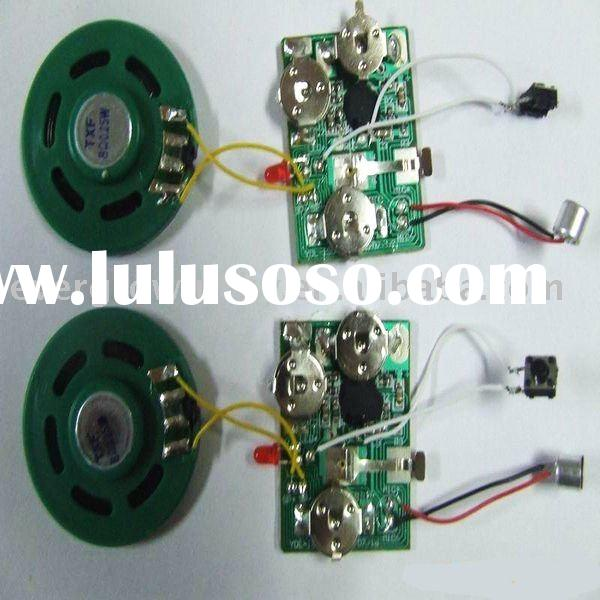 recording voice chip/greeting card sound module/music module