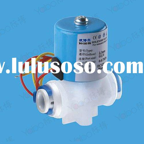 ro water purifier parts,solenoid valve with quick connector/water filter part