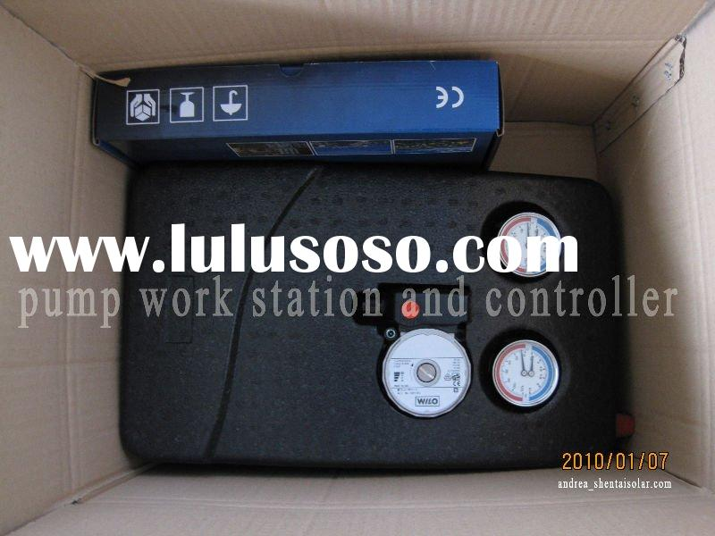 sell solar water heater pump station ,controller,expansion tank