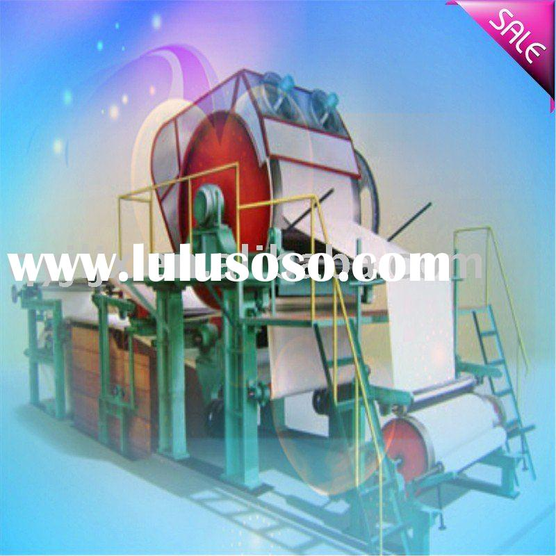 sepcialized production 1760mm high speed toilet paper making machine