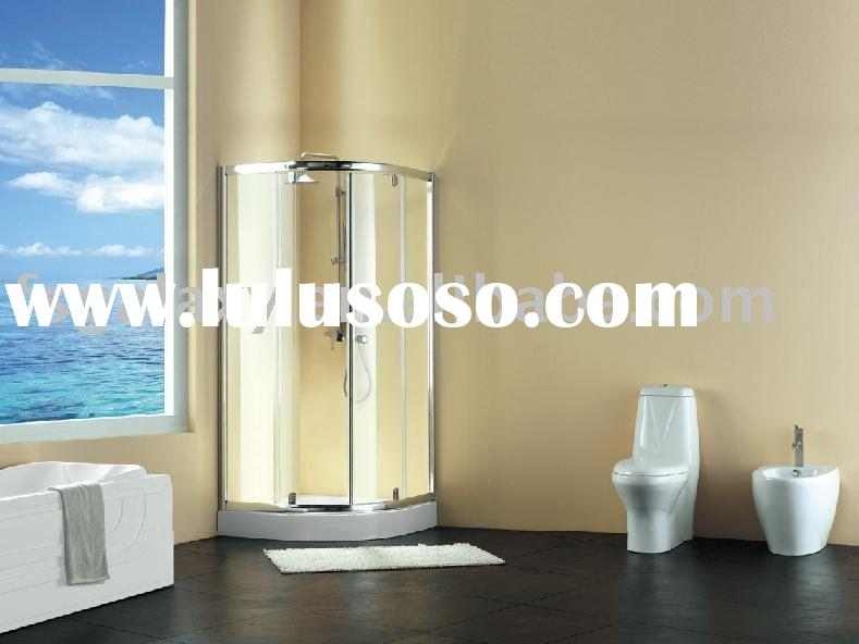 simple shower room, glass shower cabin,bathroom cabinet GF9D