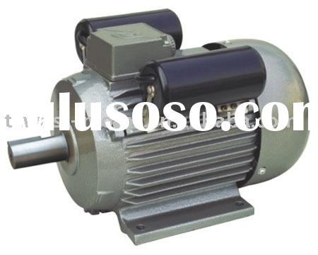 Ac single phase electric motor two capacitor for sale for Single phase motor price