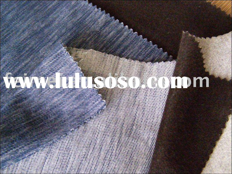 slub denim jeans fabric