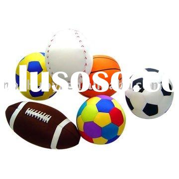 sport microbead pillow / EPS filled cushion / games pillow / promotion gift pillow