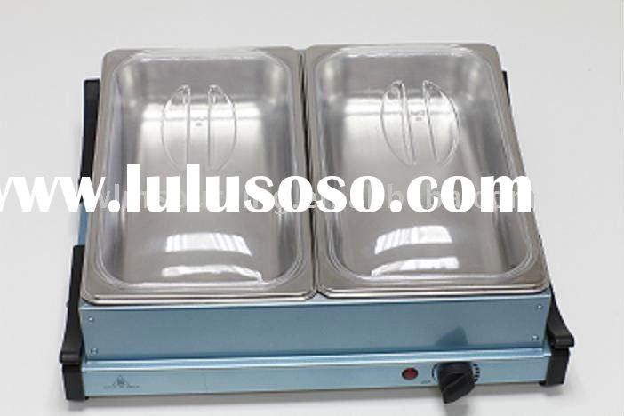 stainless steel buffet food warmer